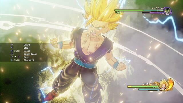Nuevas imágenes de la saga de Célula en Dragon Ball Z: Kakarot