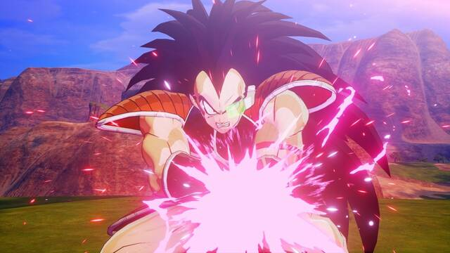 Dragon Ball Z: Kakarot muestra un combate entre Goku y Raditz