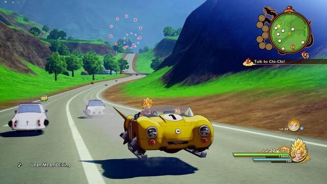 Dragon Ball Z: Kakarot: Los desarrolladores trabajan para dar contenido al coche