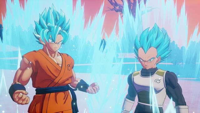 Dragon Ball Z Kakarot: Nuevas imágenes de su segundo DLC y su nuevo minijuego de cartas