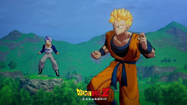 Dragon Ball Z Kakarot Trunks El guerrero de la esperanza