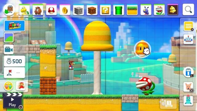 Todo sobre el Editor de Niveles en Super Mario Maker 2