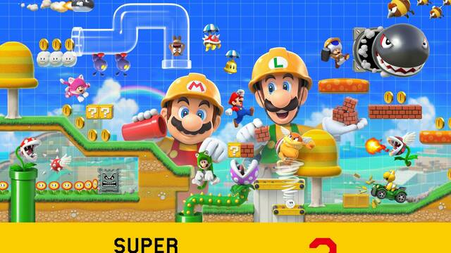 Anunciado Super Mario Maker 2 para Nintendo Switch