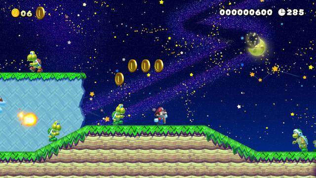 Cómo desbloquear el Modo Noche en Super Mario Maker 2