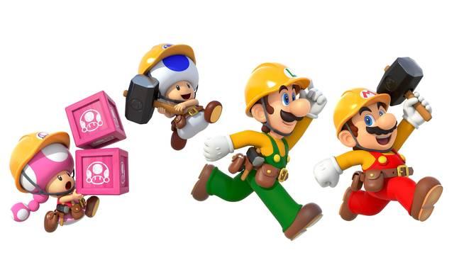 Cómo cambiar de personaje en Super Mario Maker 2