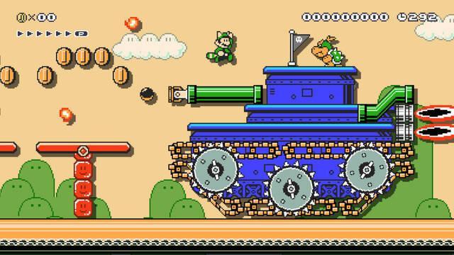 Luigi ayudará a jugadores con problemas en los niveles de Super Mario Maker 2