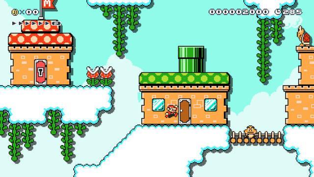 ¿Para qué cosas necesito Nintendo Switch Online en Super Mario Maker 2?