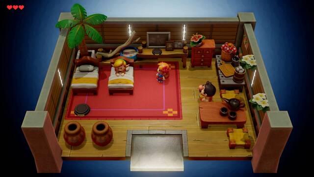 Crea tus propias mazmorras en The Legend of Zelda: Link's Awakening