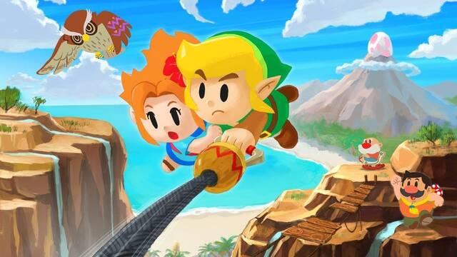 Zelda Link's Awakening: analizan el framerate y la resolución del remake de Switch
