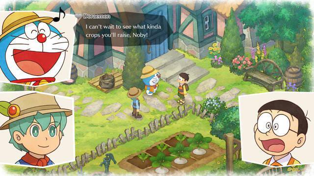 Doraemon Story of Seasons llega el 11 de octubre a Occidente