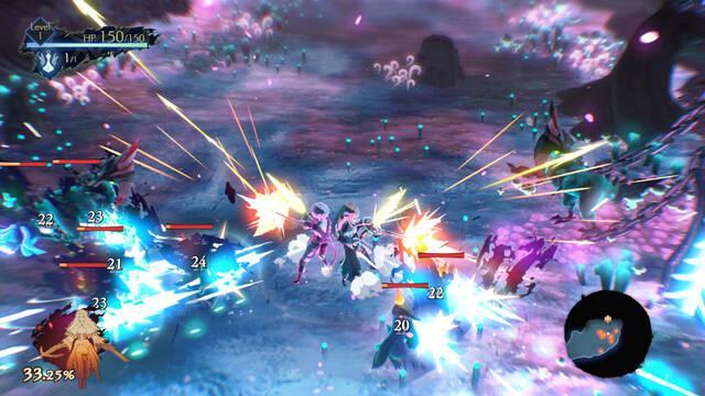 Así es el sistema de combate de Oninaki, el nuevo juego de rol de Square Enix