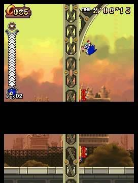 Nuevas imágenes de Sonic Rush Adventure