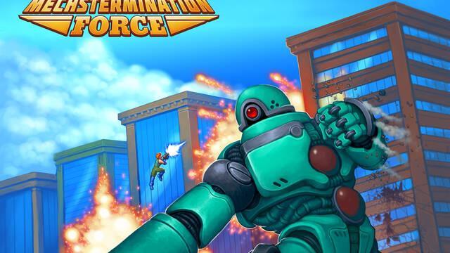 Mechstermination Force se lanzará el 4 de abril en Nintendo Switch
