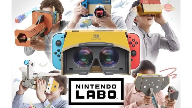 El kit de realidad virtual de Nintendo Labo se agota en EE.UU.