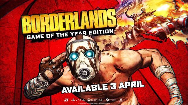 Borderlands: Edición Juego del Año ya está disponible en Xbox One, PS4 y PC