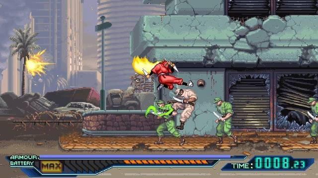 El clásico The Ninja Warriors: Once Again llegará este año a Nintendo Switch y PS4