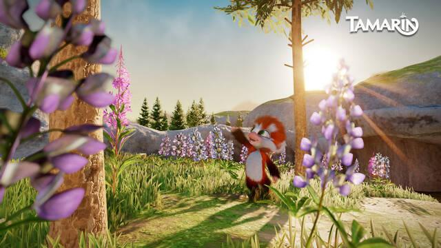La adorable aventura de Tamarin estará disponible a finales de año en PC y PS4