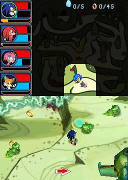 GC: Nuevas imágenes de Sonic Chronicles
