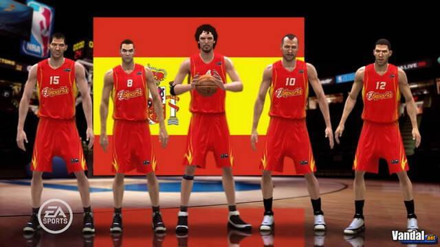 Pau Gasol volverá a ser la imagen de NBA Live 08; nuevas imágenes