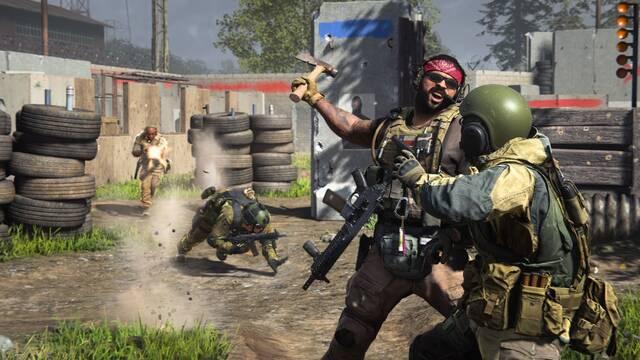 Call of Duty Modern Warfare Warzone Cierre crash bloqueo