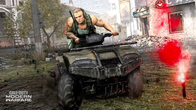 Call of Duty Modern Warfare Temporada 2 Tamaño actualización