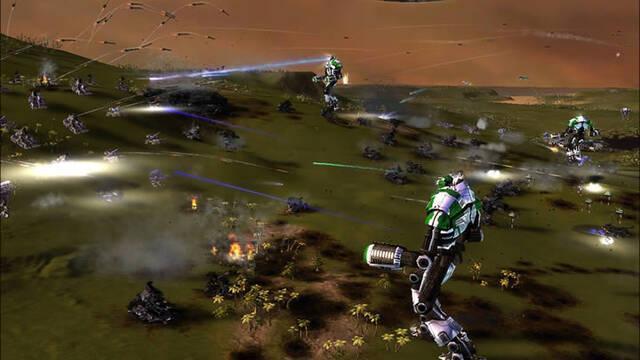 Primeras imágenes de Supreme Commander: Forged Alliance