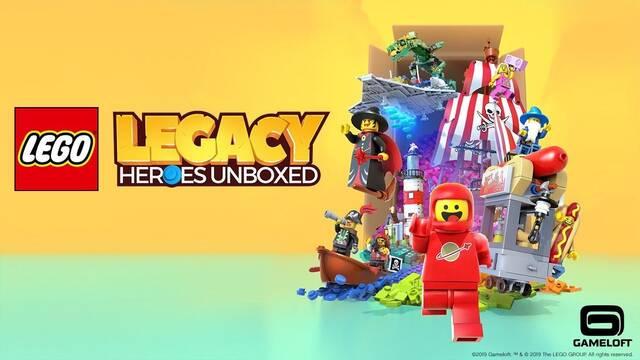 Gameloft anuncia LEGO Legacy: Heroes Unboxed