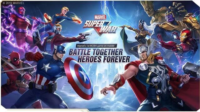 Primer tráiler de Marvel Super War, un MOBA gratuito para móviles