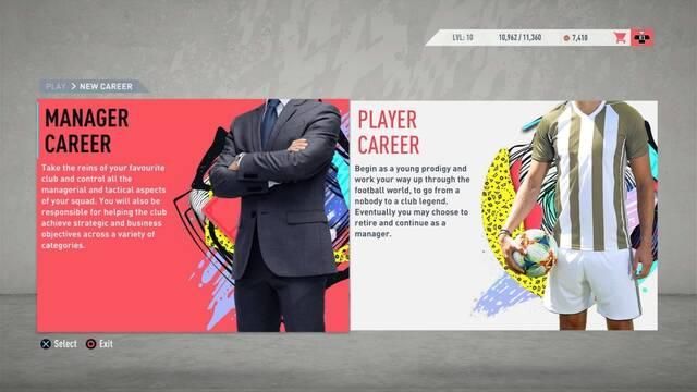 FIFA 20 detalla las novedades y cambios para su Modo Carrera