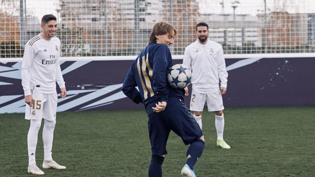 VOLTA conquista el corazón de los jugadores del Madrid