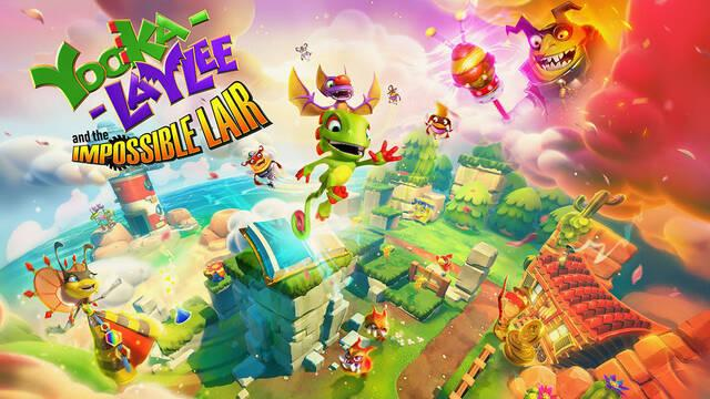 Yooka-Laylee and the Impossible Lair se lanzará en octubre para Switch, One, PS4 y PC