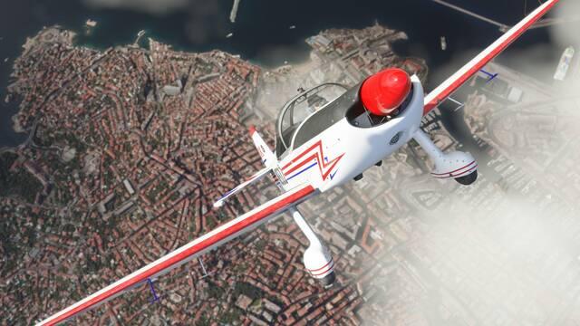 Microsoft Flight Simulator actualización reino unido
