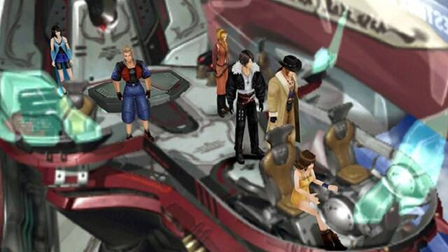 Final Fantasy VIII Remastered muestra ocho minutos de gameplay