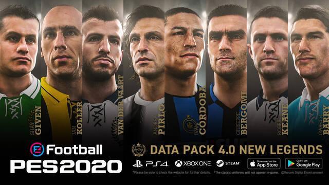 Konami sigue actualizando Pes 2020 con jugadores