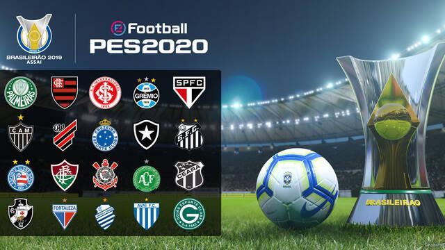 Konami se hace con importantes licencias del fútbol brasileño para eFootball PES 2020