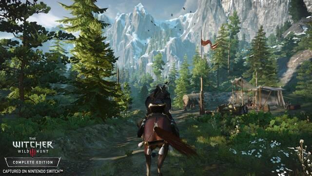 The Witcher III funciona a 720p en Nintendo Switch con resolución dinámica