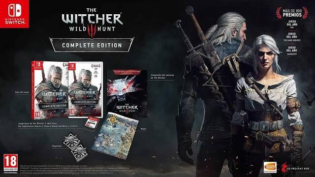Se confirma que The Witcher 3 no tendrá descargas obligatorias en Switch