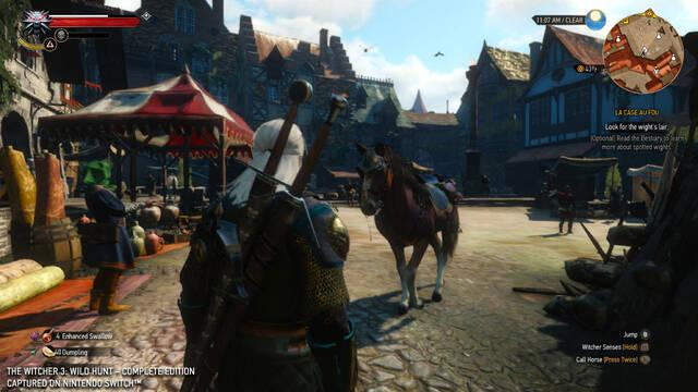 Saber Interactive Switch Pro The Witcher 3