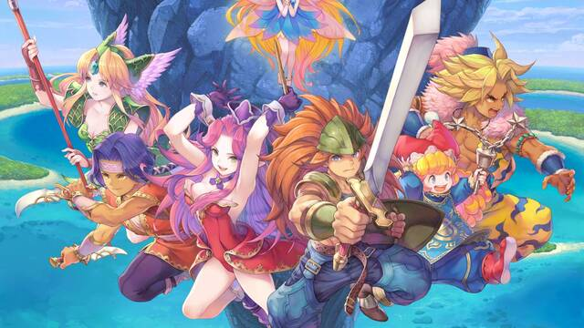 Oficial: El remake Trials of Mana se lanzará el 24 de abril en Switch, PS4 y PC