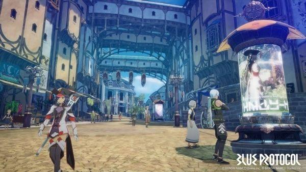 Blue Protocol: El espectacular MMO de Bandai Namco muestra su primer tráiler