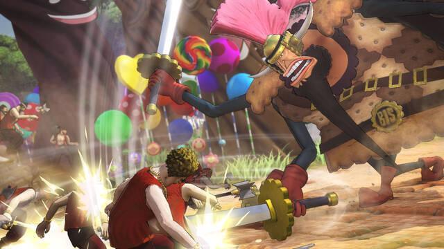 Cracker llega a One Piece: Warriors 4