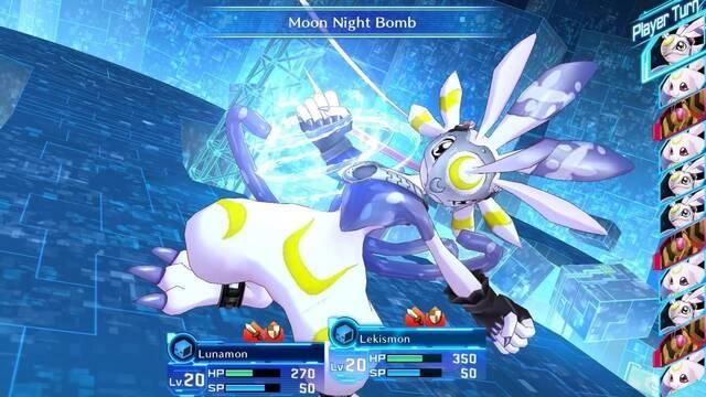 Así son las batallas en Digimon Story Cyber Sleuth: Complete Edition