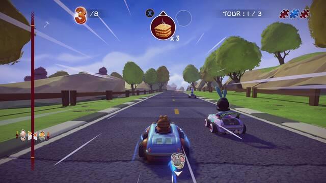 Anunciado Garfield Kart: Furious Racing para consolas y PC