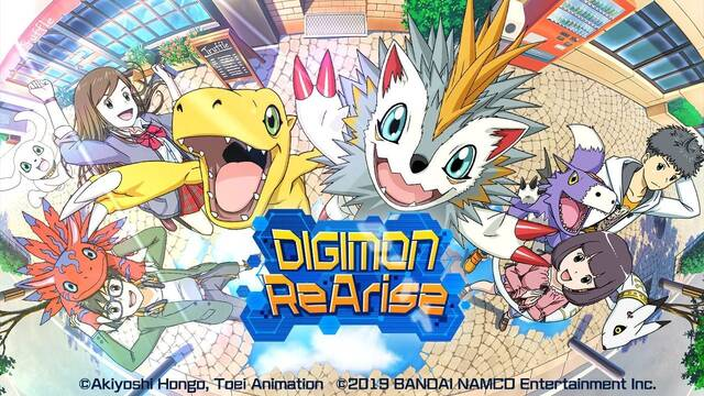 Bandai Namco anuncia Digimon ReArise para los mercados occidentales