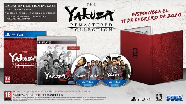 SEGA anuncia The Yakuza Remastered Collection para PS4 en digital y físico