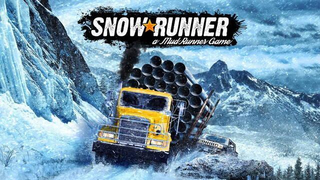 Anunciado Snowrunner, la secuela de Mudrunner repleta de nieve y vehículos inmensos