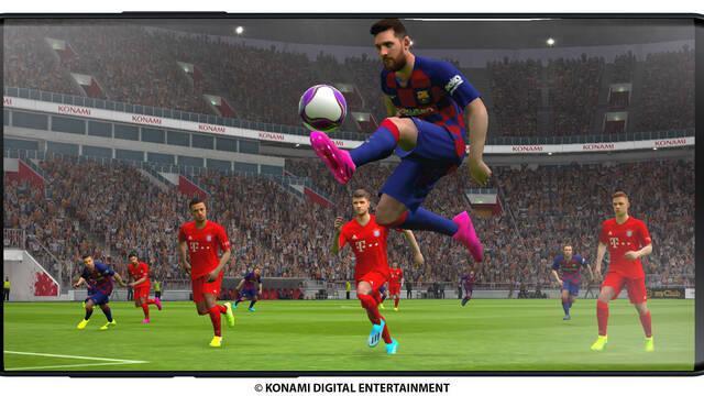La versión móvil de eFootball PES 2020 estará disponible en octubre