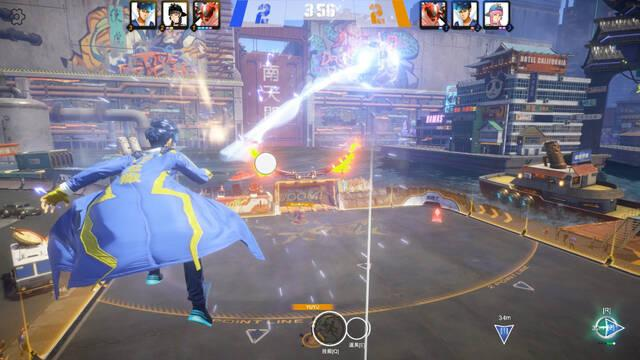 El juego deportivo ciberpunk Super Buckyball Tournament prepara unas pruebas alfa