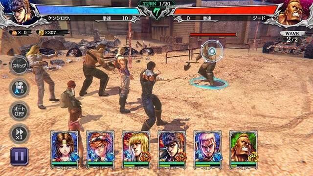 Fist of the North Star Legends ReVIVE ya está disponible en todo el mundo para móviles