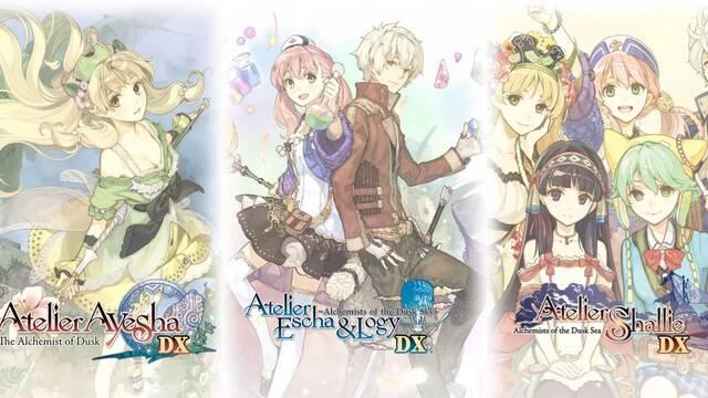 Koei Tecmo anuncia la compilación Atelier Dusk Trilogy Deluxe Pack para PC, PS4 y Switch